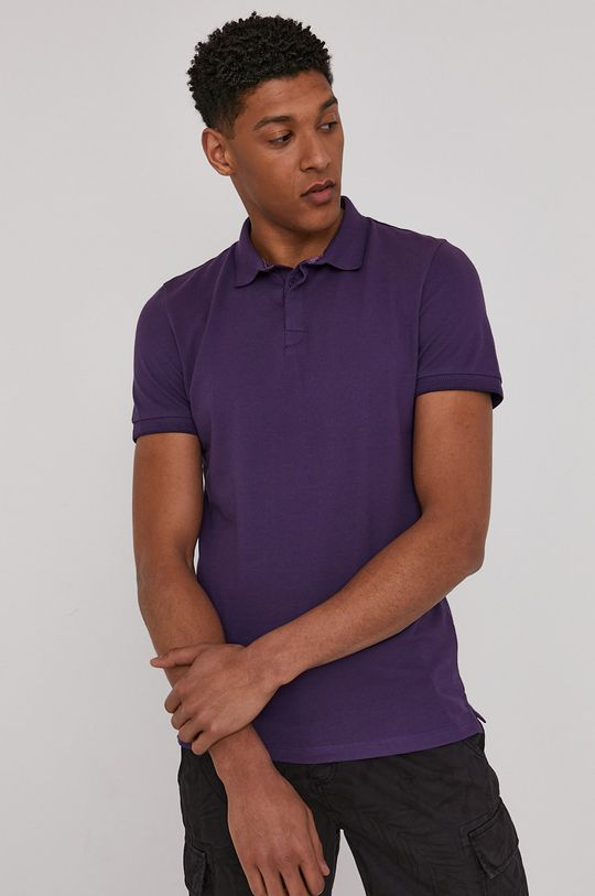 fialová Medicine - Polo tričko Basic