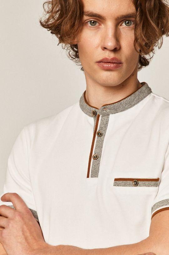 biela Medicine - Polo tričko Comfort Classic Pánsky