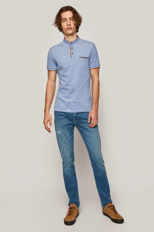 Medicine - Tricou Polo Comfort Classic albastru deschis