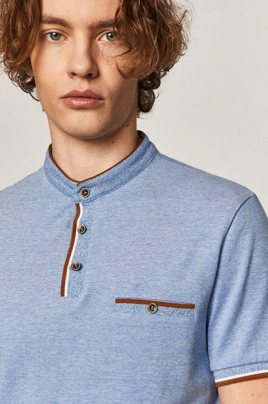 albastru deschis Medicine - Tricou Polo Comfort Classic