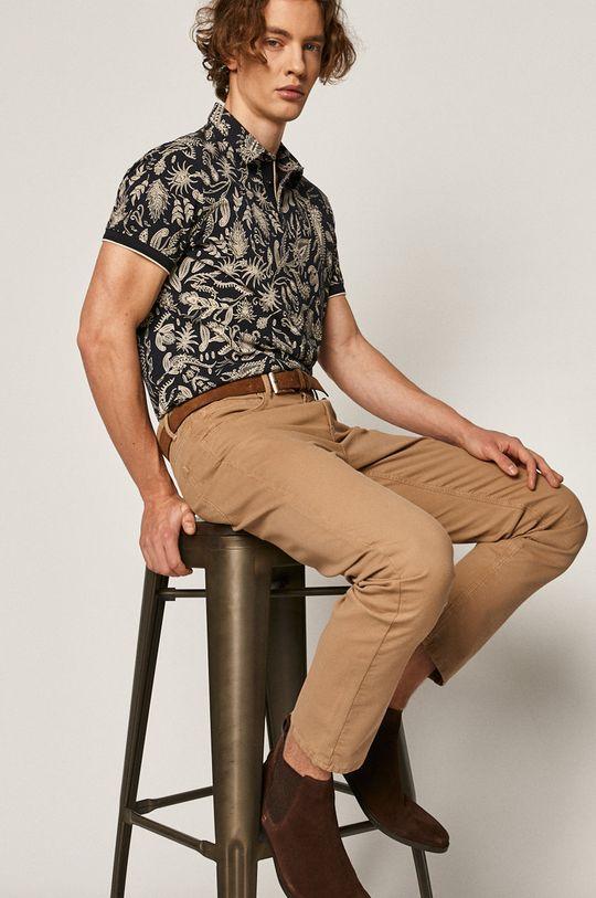 tmavomodrá Medicine - Polo tričko Comfort Classic Pánsky