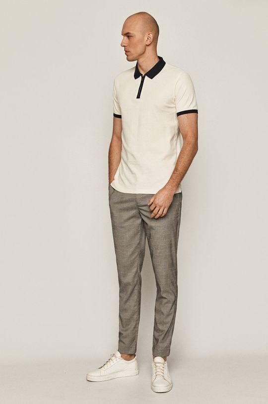 Medicine - Tricou Polo Casual Elegance crem