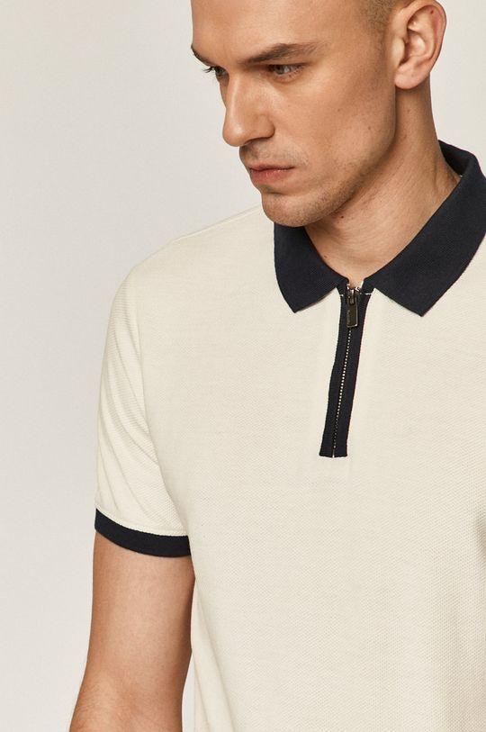 crem Medicine - Tricou Polo Casual Elegance De bărbați