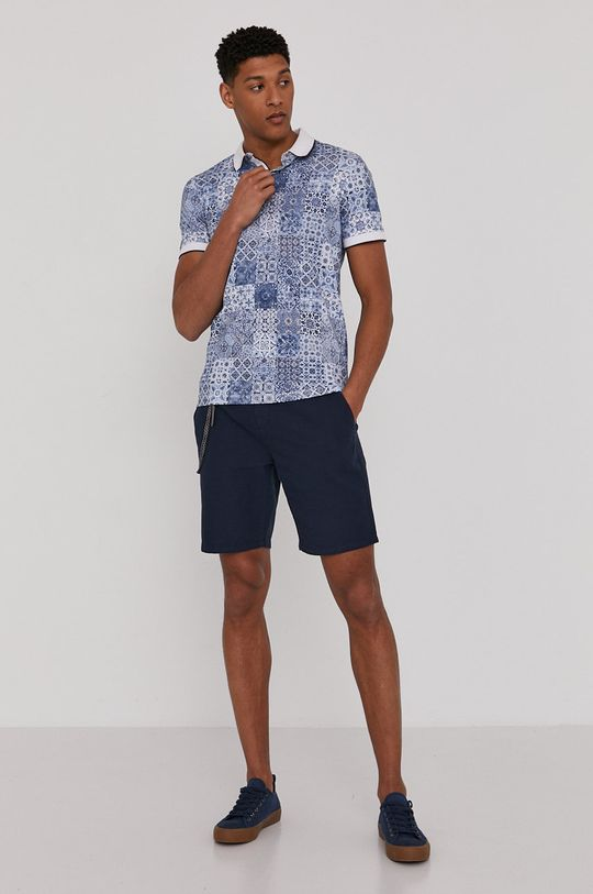 Medicine - Polo tričko Modern Africa modrá