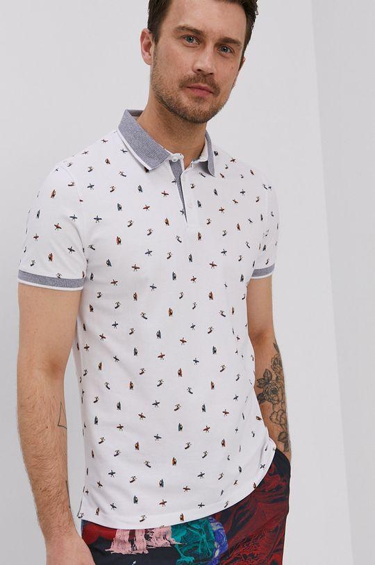 biela Medicine - Polo tričko Commercial Pánsky
