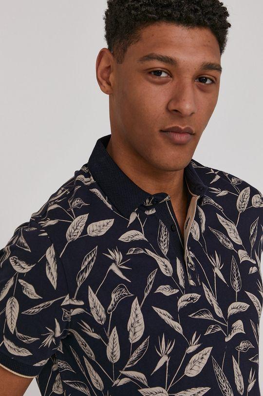 bleumarin Medicine - Tricou Polo Summer Vibes De bărbați