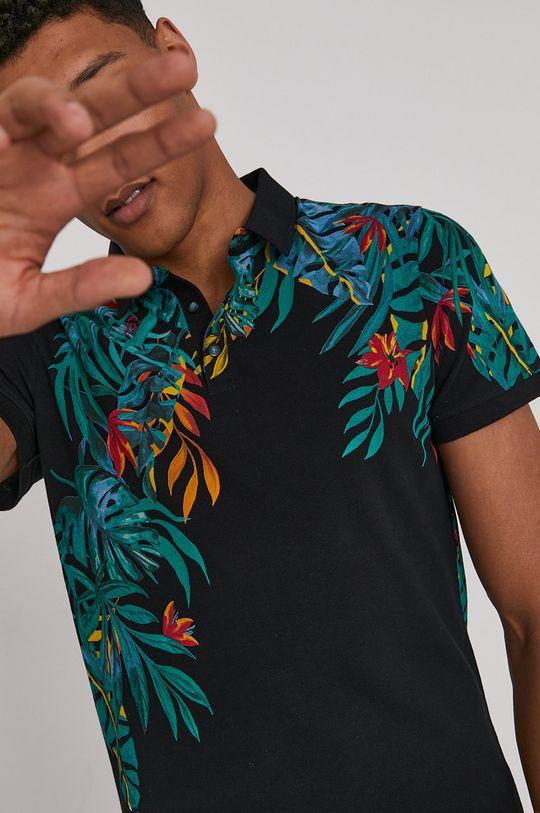 čierna Medicine - Polo tričko Summer Vibes Pánsky