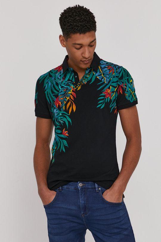čierna Medicine - Polo tričko Summer Vibes