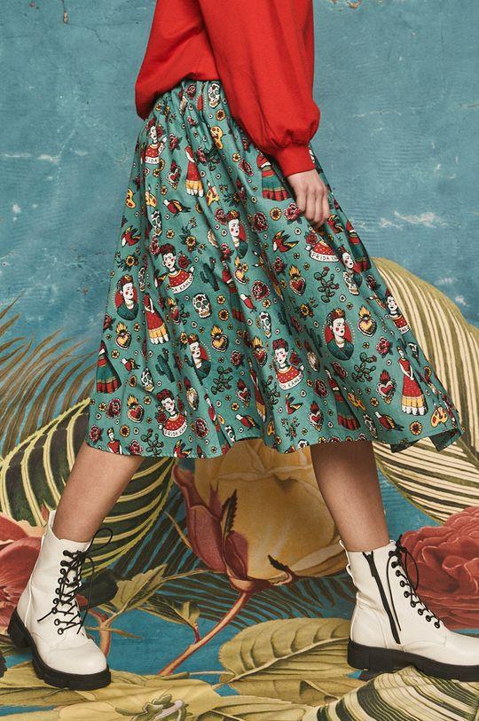 tyrkysová Medicine - Sukně Frida Kahlo Dámský