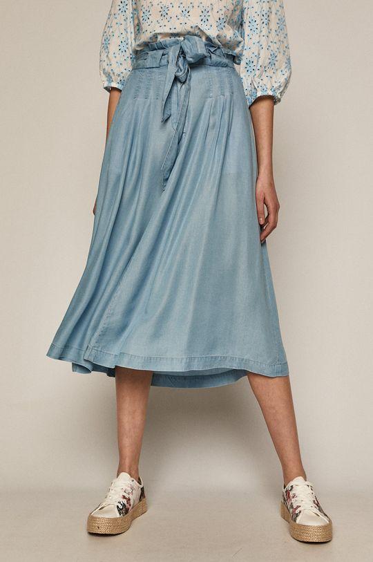 světle modrá Medicine - Sukně Summer Linen Dámský