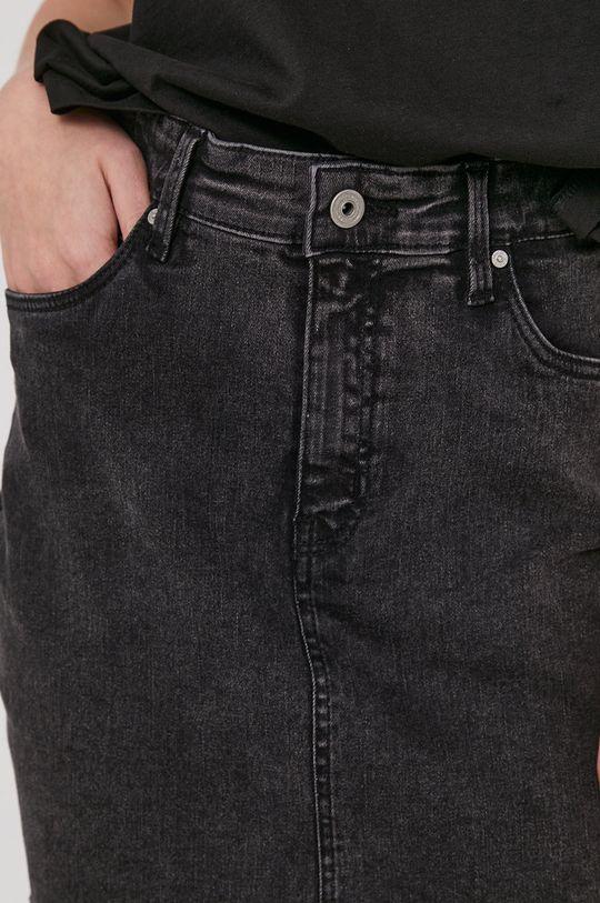 czarny Medicine - Spódnica jeansowa Denim