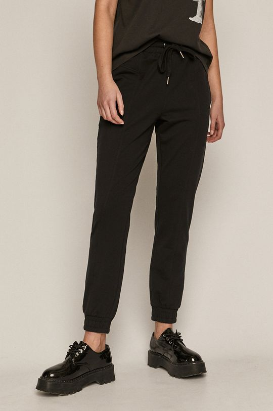 negru Medicine - Pantaloni Basic De femei