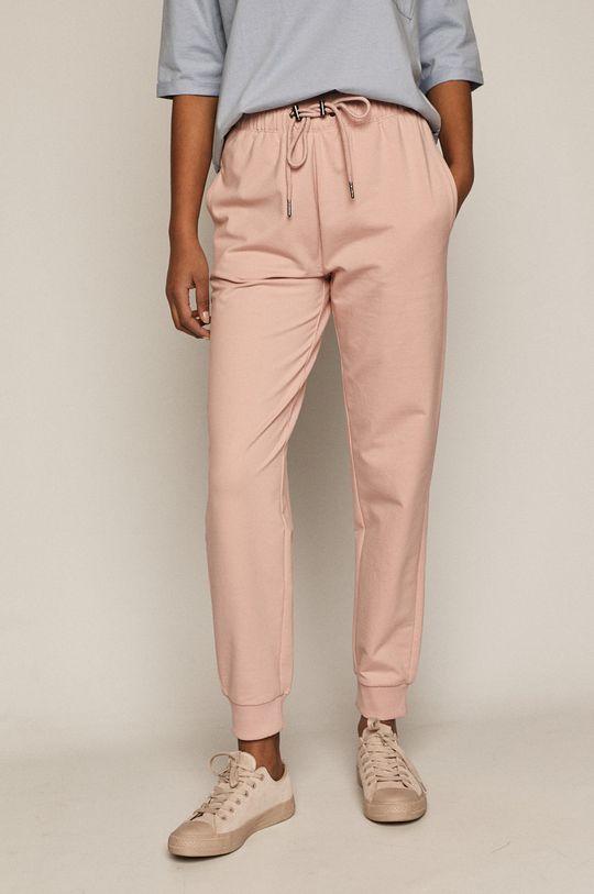 pastelowy różowy Medicine - Spodnie Basic Damski