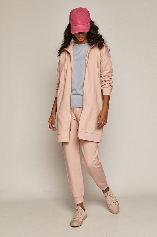 Medicine - Spodnie Basic pastelowy różowy