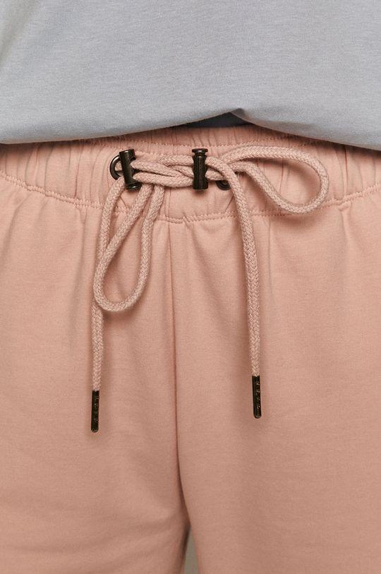 pastelowy różowy Medicine - Spodnie Basic