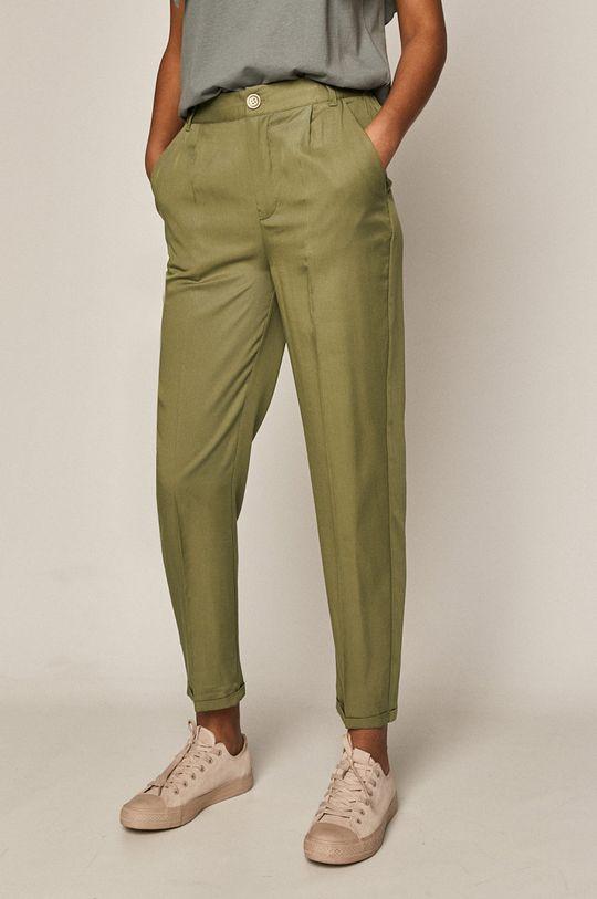 olivová Medicine - Kalhoty Basic Dámský