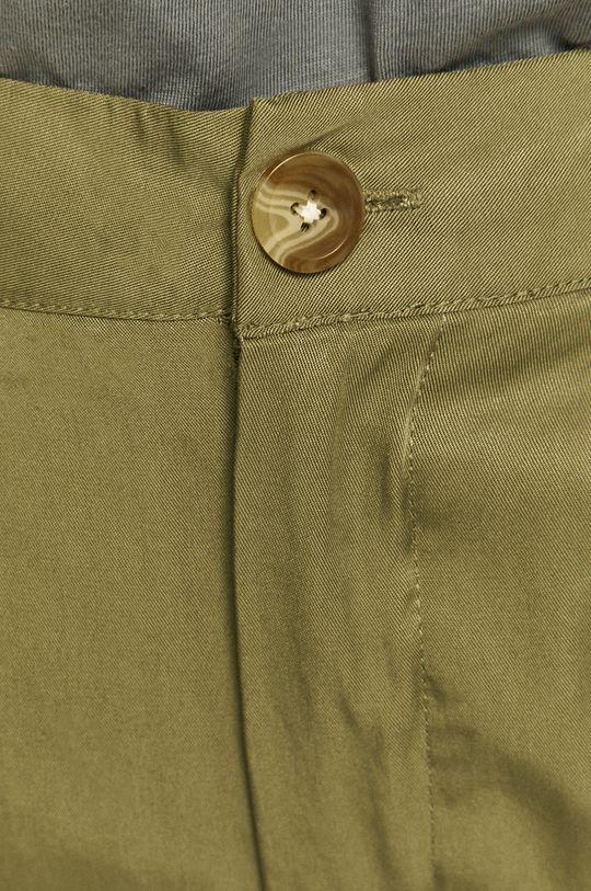 olivová Medicine - Kalhoty Basic