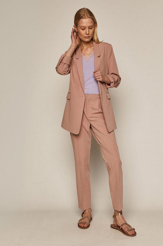 Medicine - Kalhoty Essential pastelově růžová