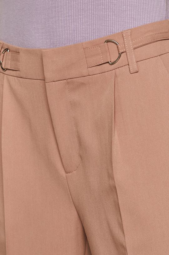 pastelově růžová Medicine - Kalhoty Essential
