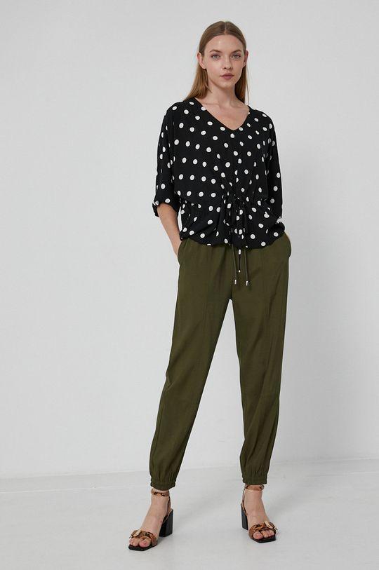 Medicine - Kalhoty Essential tlumená zelená