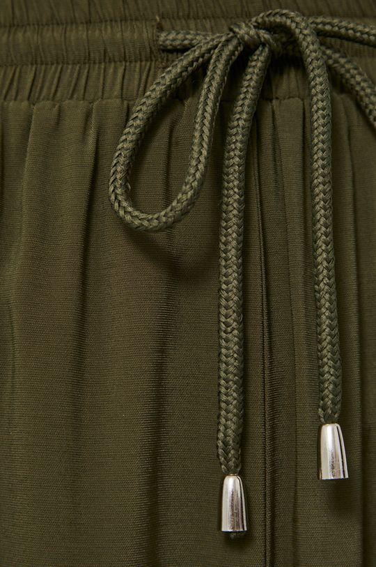 tlumená zelená Medicine - Kalhoty Essential