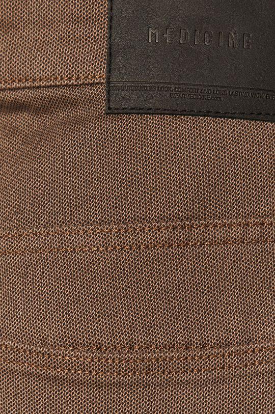 kawowy Medicine - Spodnie Basic