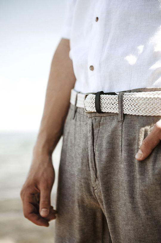 Medicine - Kalhoty Basic  Podšívka: 100% Bavlna Hlavní materiál: 45% Bavlna, 55% Len