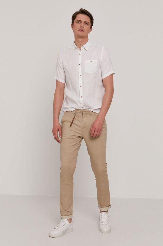 piaskowy Medicine - Spodnie Basic Męski