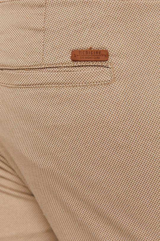 piaskowy Medicine - Spodnie Basic