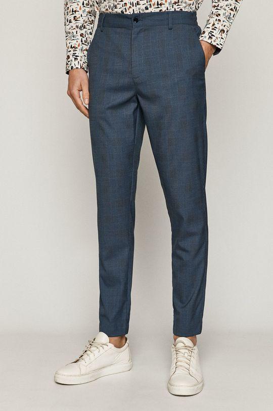 albastru metalizat Medicine - Pantaloni Casual Elegance De bărbați