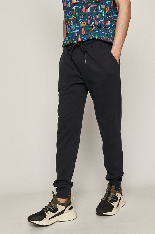 granatowy Medicine - Spodnie Retro Cool