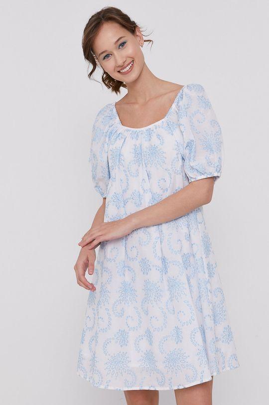 biały Medicine - Sukienka Summer Linen Damski
