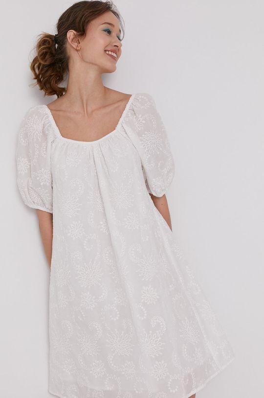 biela Medicine - Šaty Summer Linen Dámsky