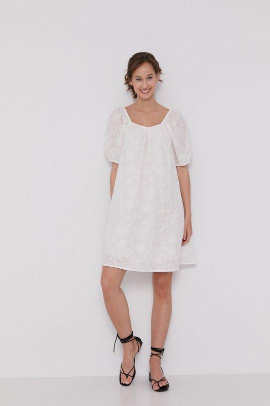 Medicine - Šaty Summer Linen biela