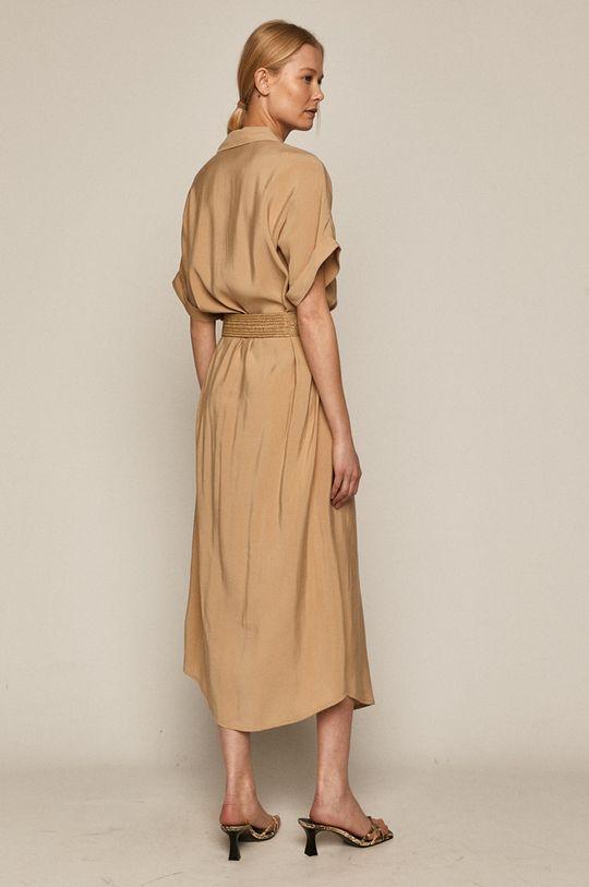 Medicine - Sukienka Summer Linen piaskowy
