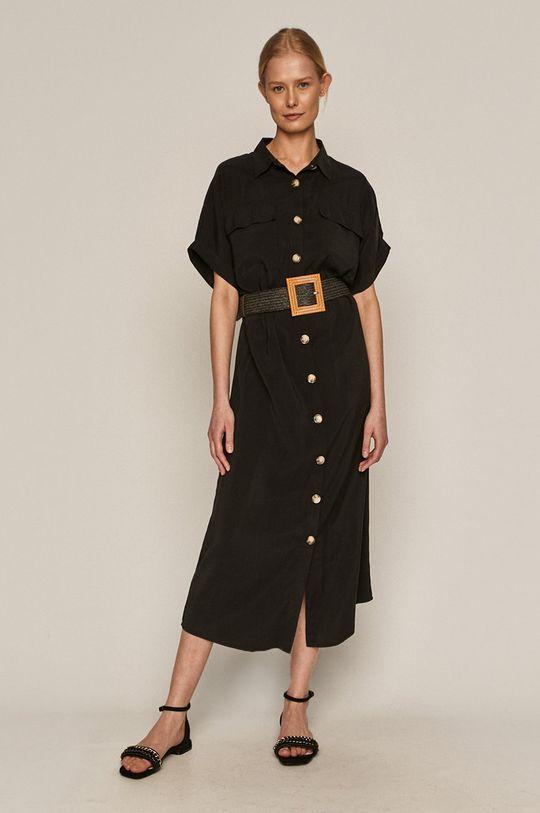 czarny Medicine - Sukienka Summer Linen Damski
