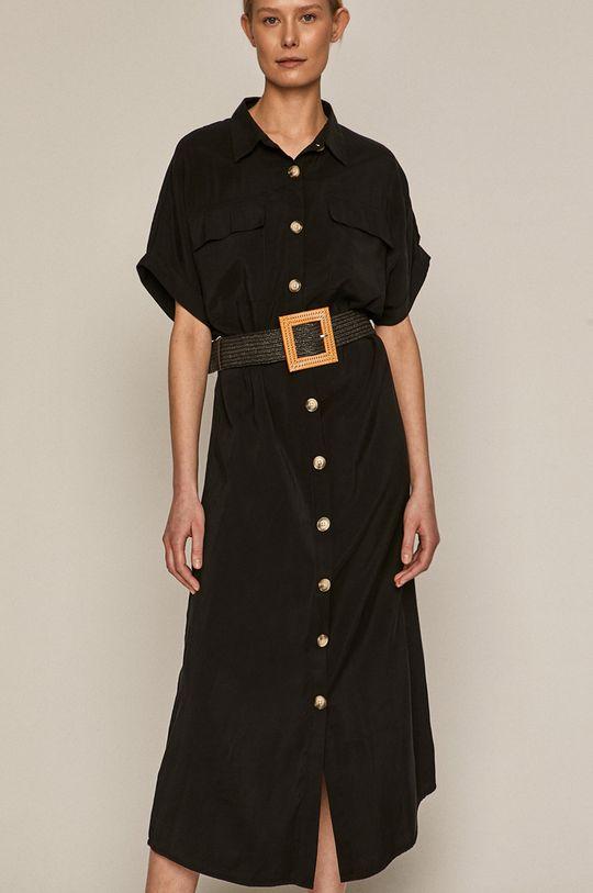 Medicine - Sukienka Summer Linen czarny
