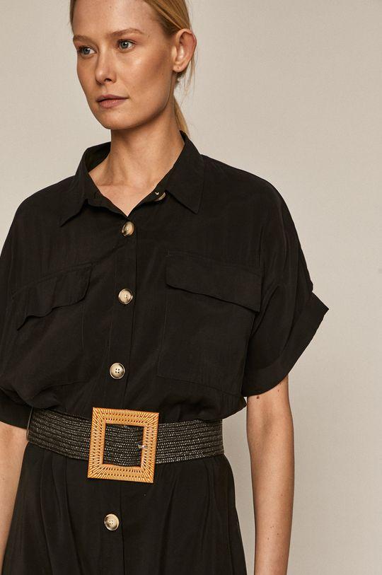 czarny Medicine - Sukienka Summer Linen