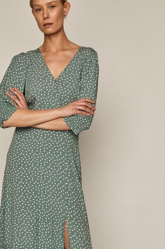miętowy Medicine - Sukienka Summer Linen