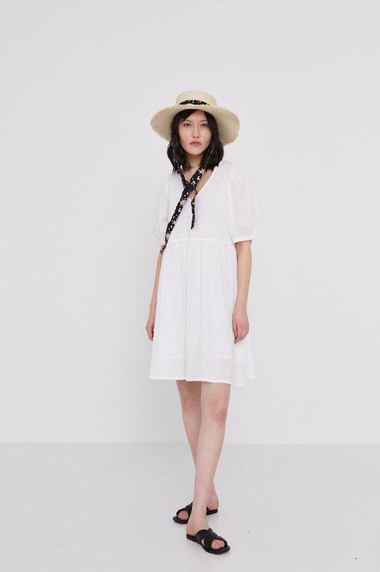 bílá Medicine - Šaty Essential Dámský