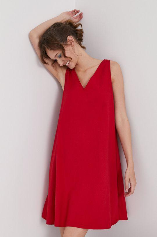 červená Medicine - Šaty Essential Dámsky