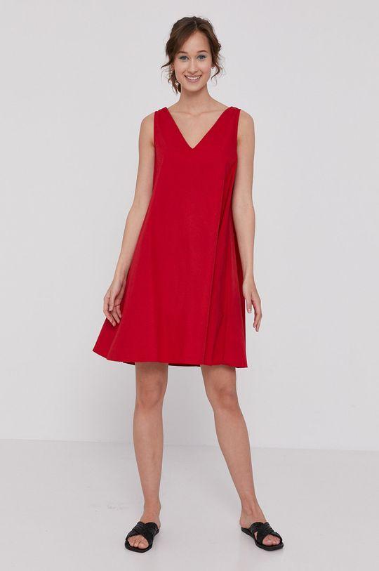 Medicine - Šaty Essential červená