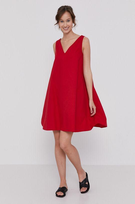 červená Medicine - Šaty Essential
