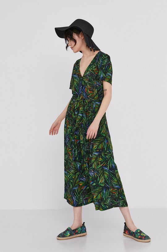multicolor Medicine - Sukienka Tropical Chaos Damski