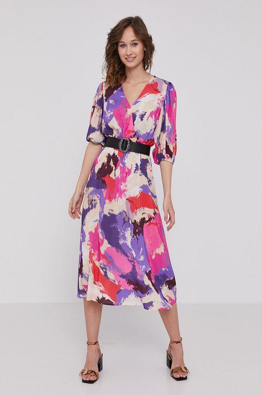 Medicine - Šaty Floating florals viacfarebná