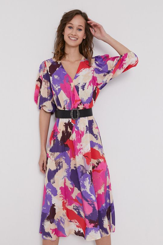 viacfarebná Medicine - Šaty Floating florals