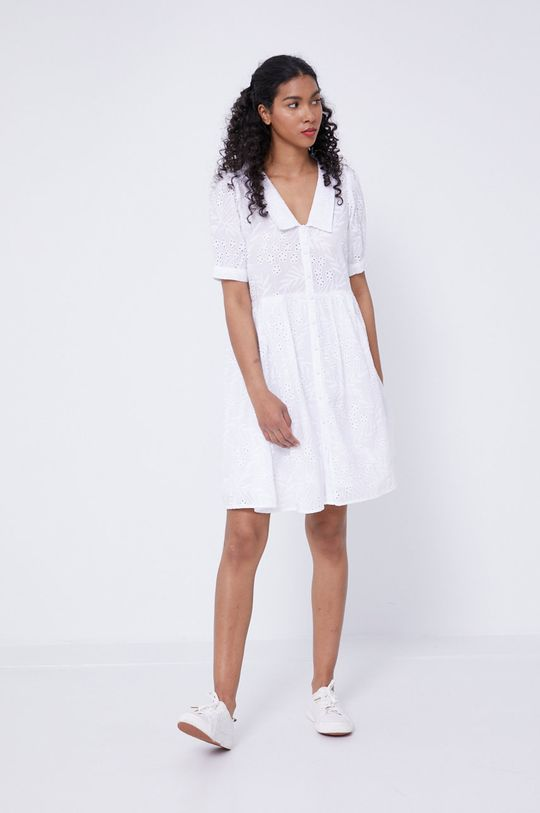 Medicine - Sukienka Essential biały