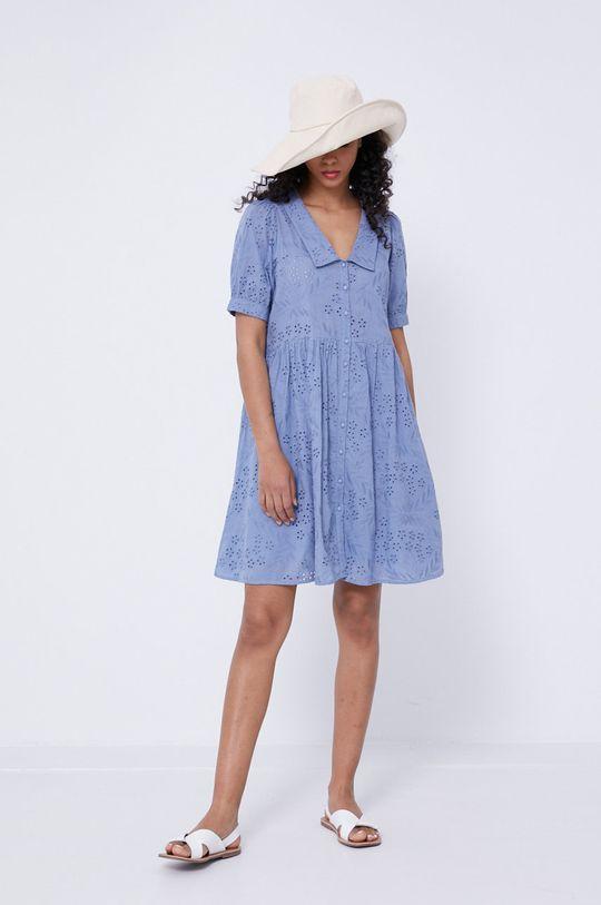 světle modrá Medicine - Šaty Essential Dámský
