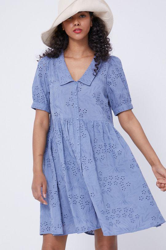Medicine - Šaty Essential světle modrá