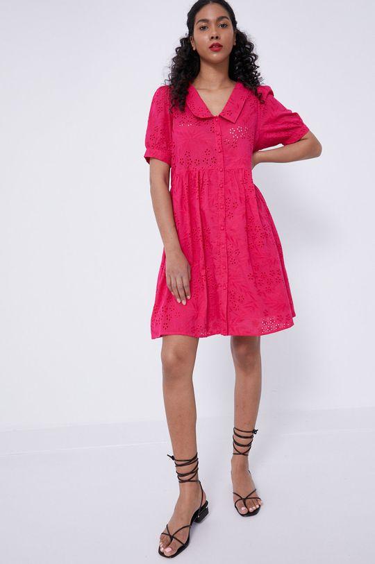 ostry różowy Medicine - Sukienka Essential Damski